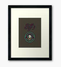 Biff's Auto Detailing Framed Print