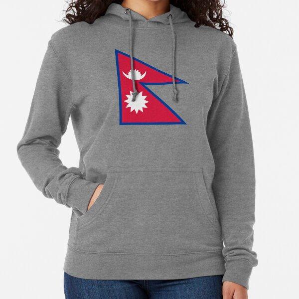 Flag of Nepal Sweat à capuche léger