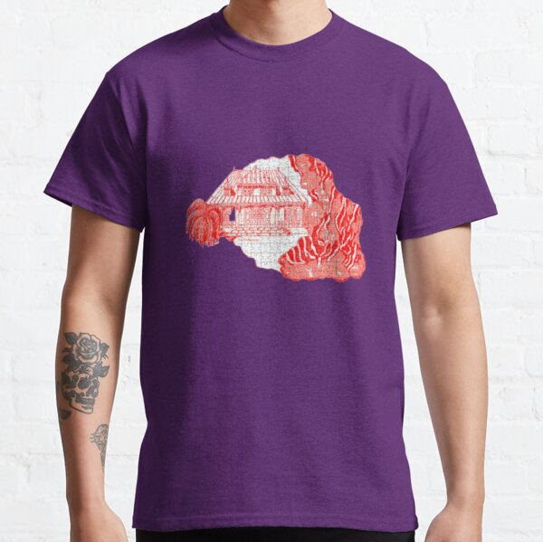 Reunion Island, puzzle style, France. Classic T-Shirt