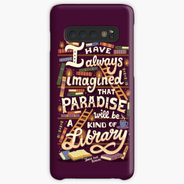 Library is Paradise Samsung Galaxy Snap Case