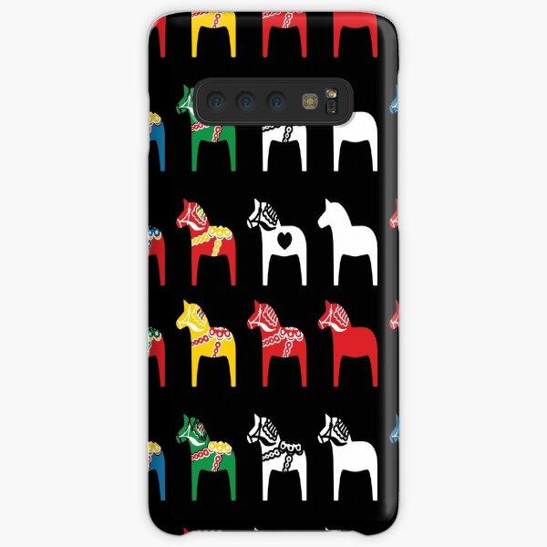 Dala Horses Dalarna Sweden Horse Dalecarlian Swedish Colorful Samsung Galaxy Snap Case