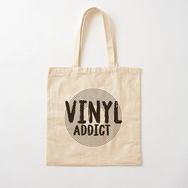Vinyl addict - vinyl records collector Cotton Tote Bag