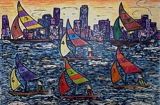 The Race by Monica Engeler