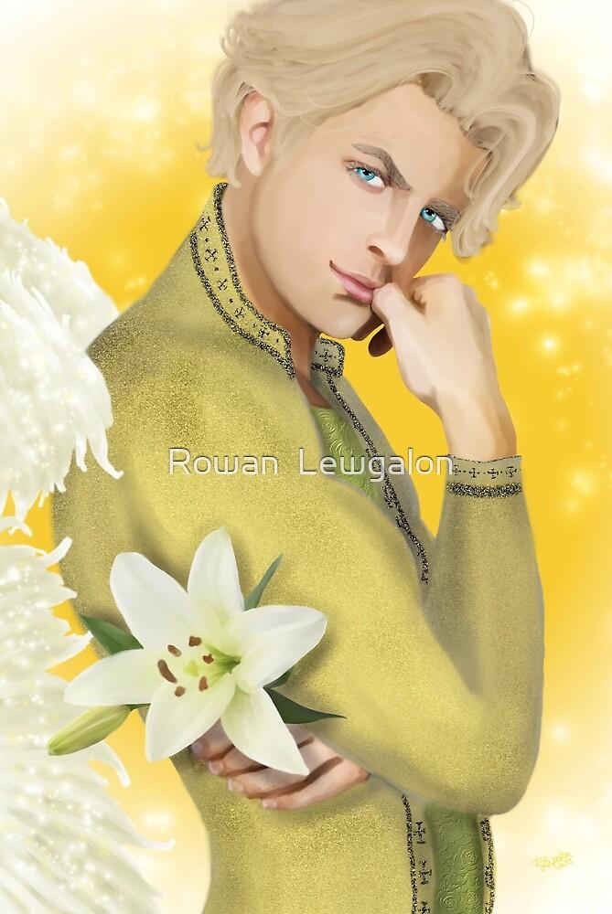 Archangel Gabriel by Rowan  Lewgalon