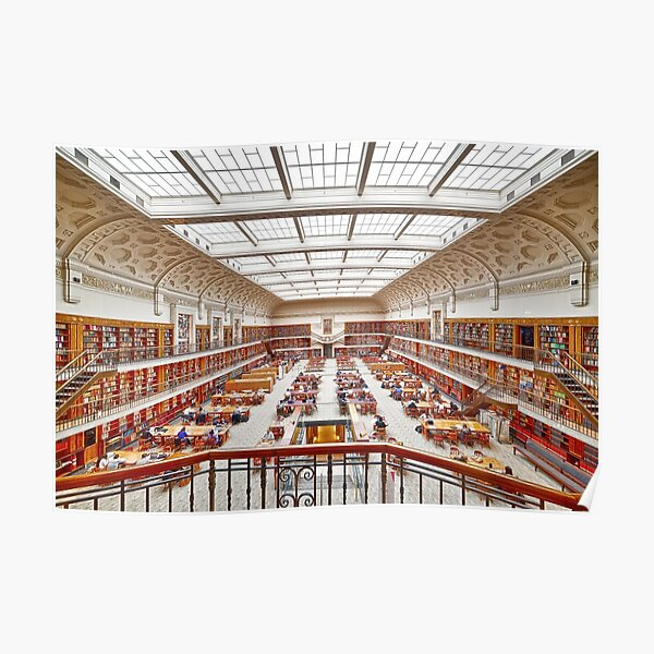 Mitchell Library Reading Room Poster
