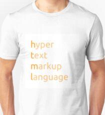 HTML - hyper text markup language T-Shirt