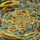 sunflowers vortex by BBS ART