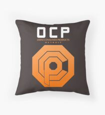 Omni Consumer Products (OCP) Throw Pillow