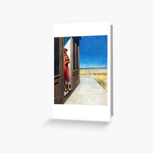 Carolina Morning-Edward Hopper Greeting Card