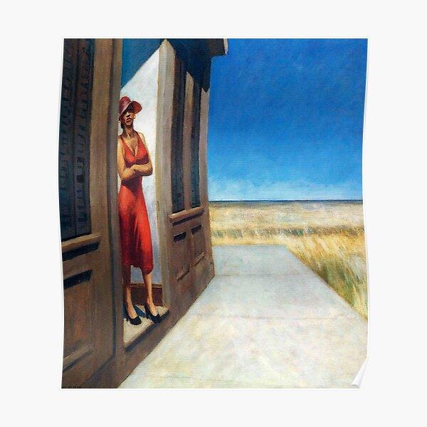 Carolina Morning-Edward Hopper Póster