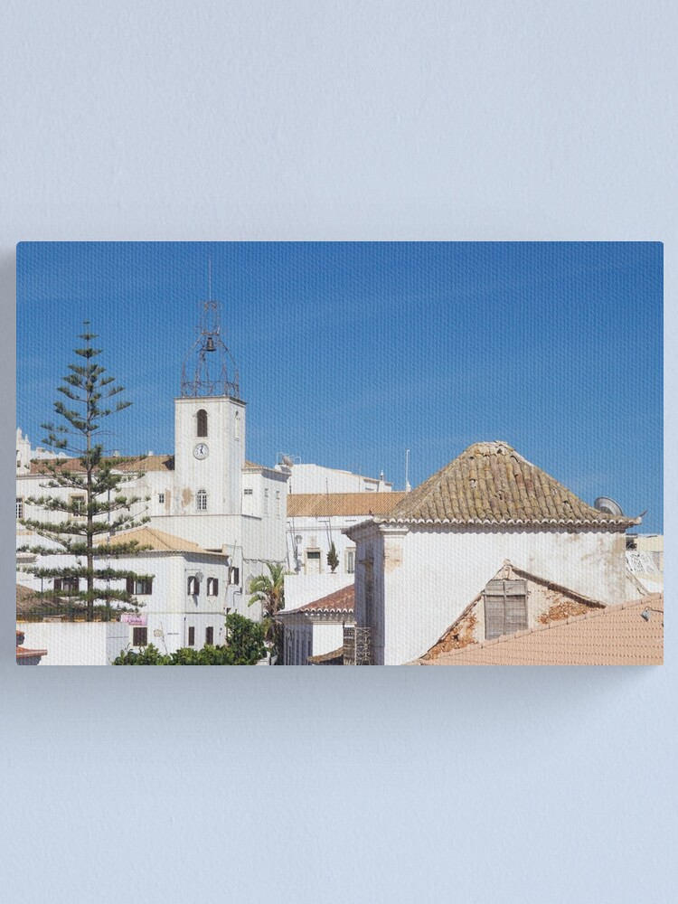 Alternate view of Albufeira Rooftops, Algarve, Portugal Canvas Print