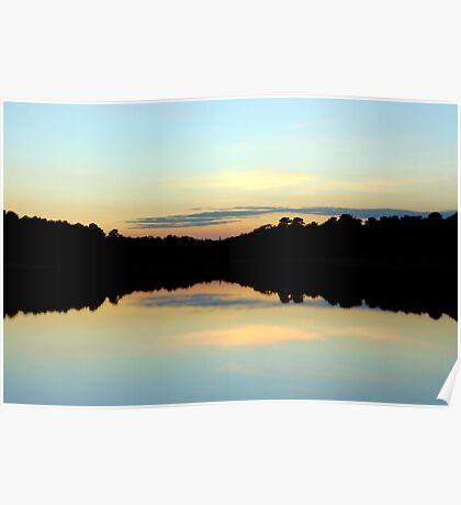 Minimalist Sunset Poster