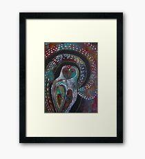 Owl Medicine - The Moon  Framed Print