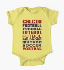 Soccer in Different Languages Kids Clothes
