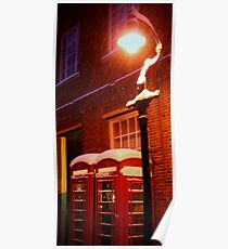The Phone Boxes (Canterbury in the Snow 2010) Poster