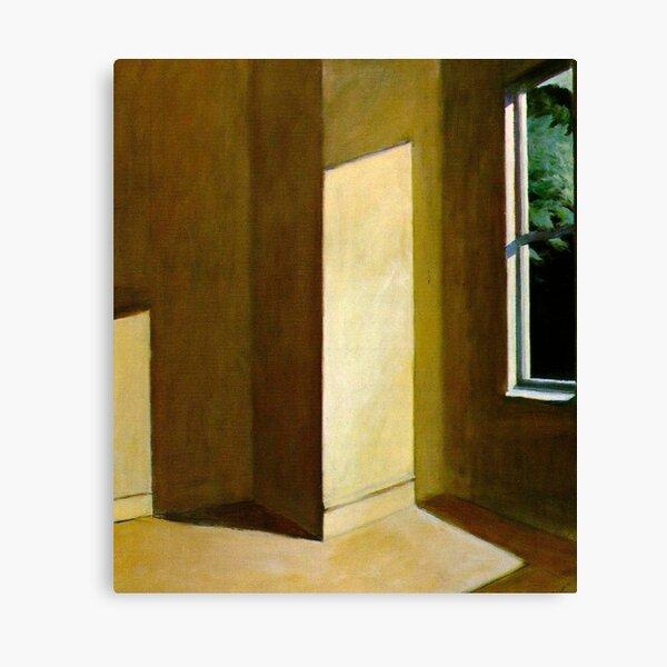 Sol en una habitación vacía-Edward Hopper Lienzo