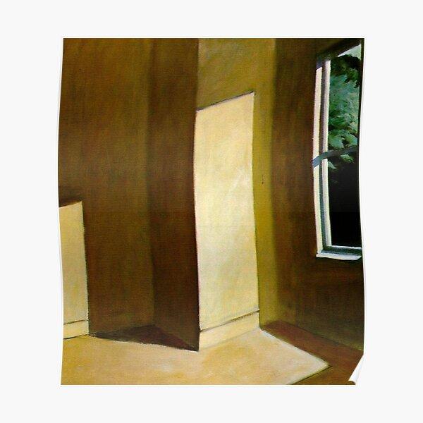 Sol en una habitación vacía-Edward Hopper Póster