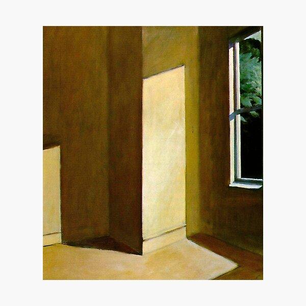 Sun in an Empty Room-Edward Hopper Photographic Print