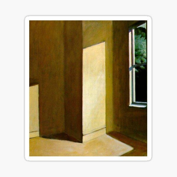 Sun in an Empty Room-Edward Hopper Sticker