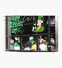 St Patrick's Day in Dublin Photographic Print