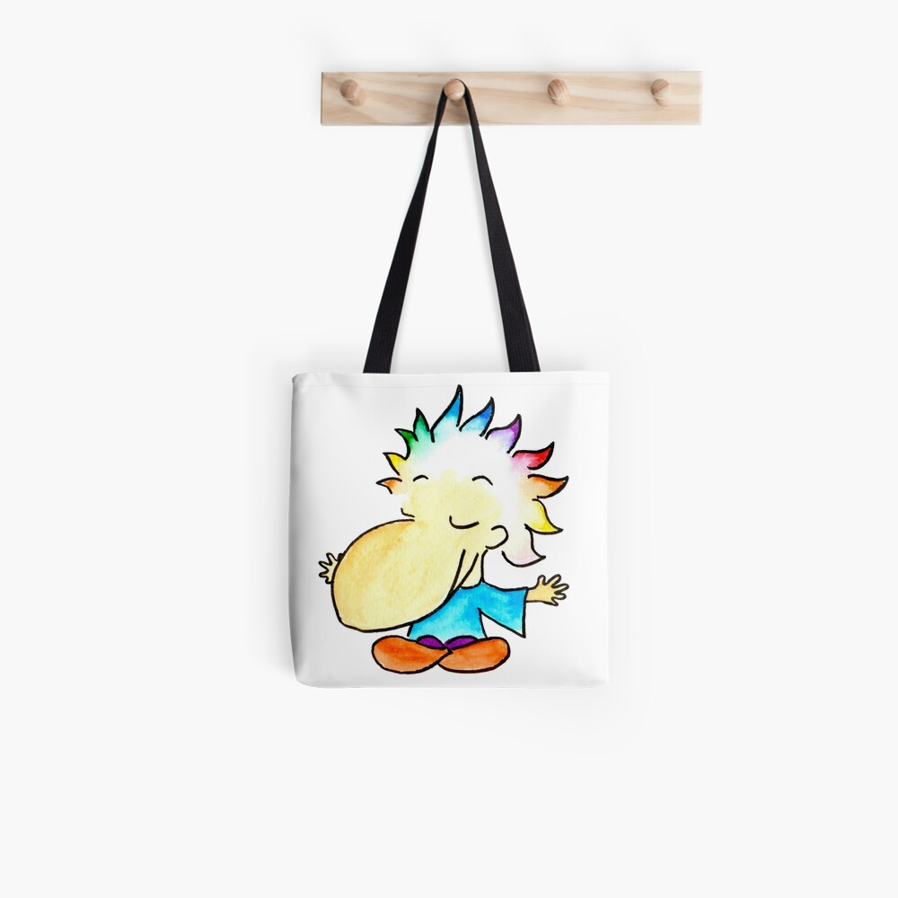 Meditation open arms Tote Bag