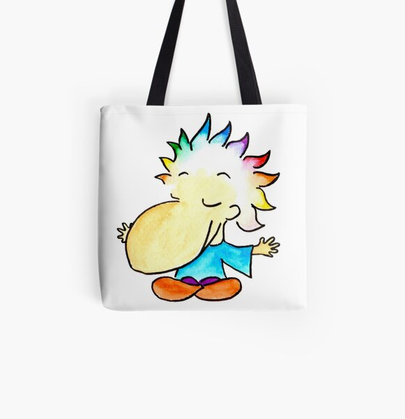 Meditation open arms All Over Print Tote Bag