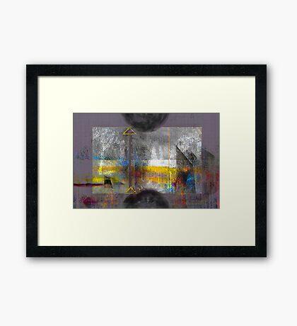 Mother of Invention Framed Print