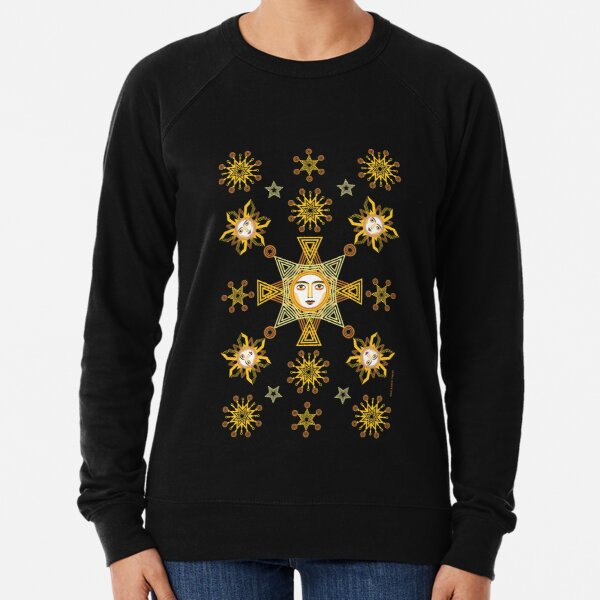 Snowflakes Collection by ©Balbusso Twins Lightweight Sweatshirt