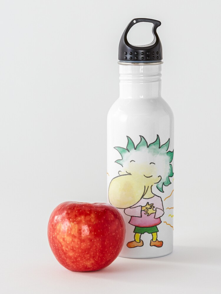 Alternate view of Feel with the heart Water Bottle