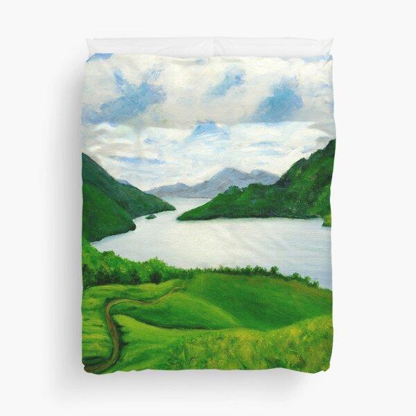 Loch Lomond Peace Duvet Cover