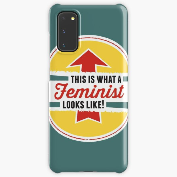 This is what a Feminist Looks Like Samsung Galaxy Snap Case