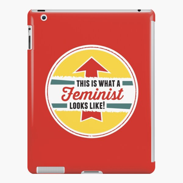 This is what a Feminist Looks Like iPad Snap Case