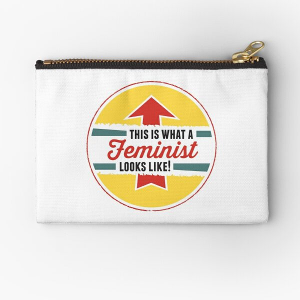 This is what a Feminist Looks Like Zipper Pouch