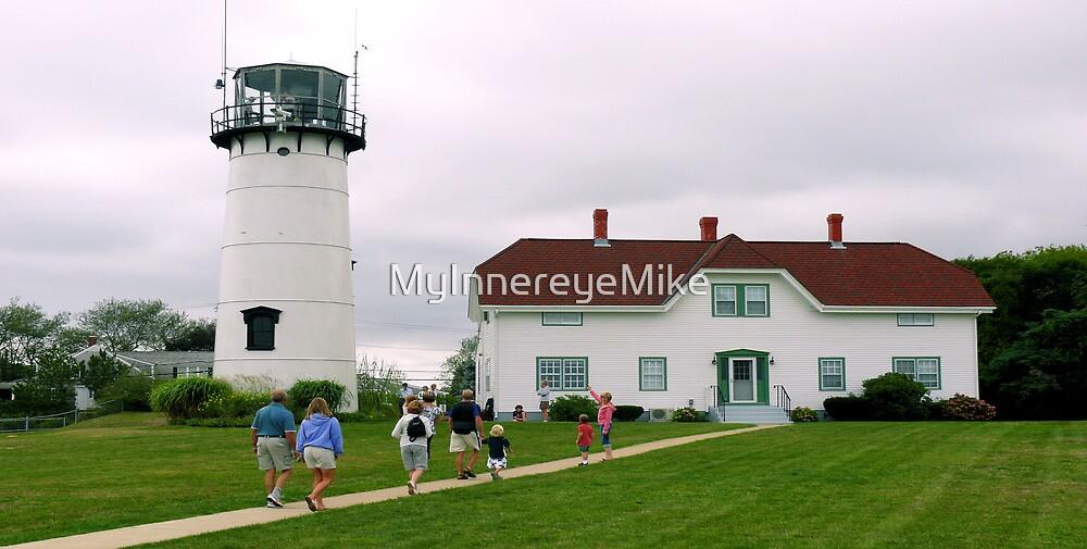 #525    Lighthouse Visitors by MyInnereyeMike
