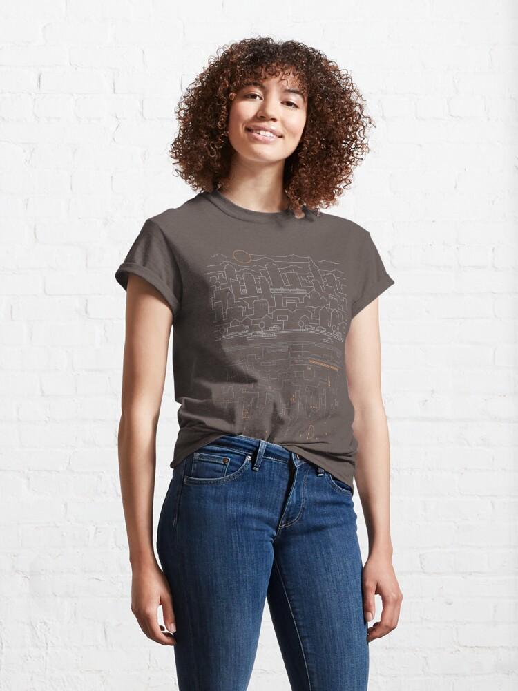 Alternate view of City 24 (Grey) Classic T-Shirt