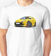 RenaultSport Megane 250 Yellow Unisex T-Shirt