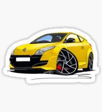 RenaultSport Megane 250 Yellow Sticker