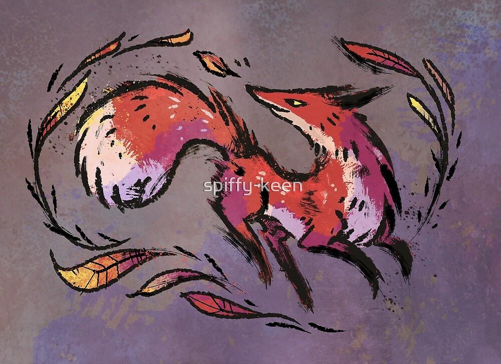 Fall Fox by spiffy-keen