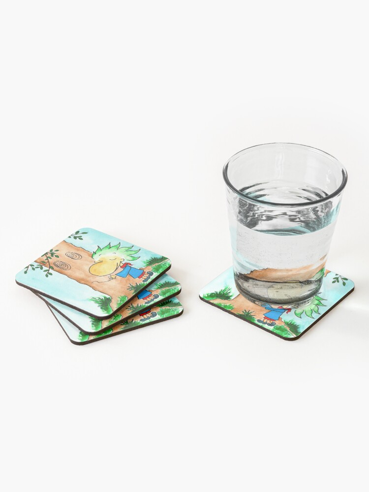 Alternate view of Hug a tree Coasters (Set of 4)