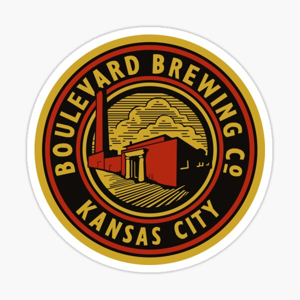 Vintage Boulevard Beer Co. Bottle Cap Sticker