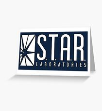 STAR Laboratories Greeting Card