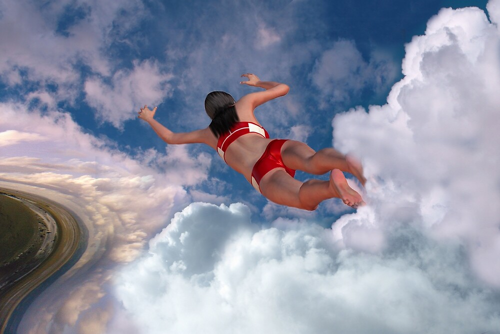 Cloud Swimming by Mike Paget