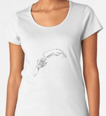 The Squid and the Whale Premium Scoop T-Shirt