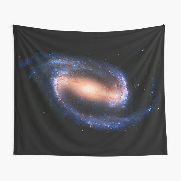 Barred Spiral Galaxy Tapestry