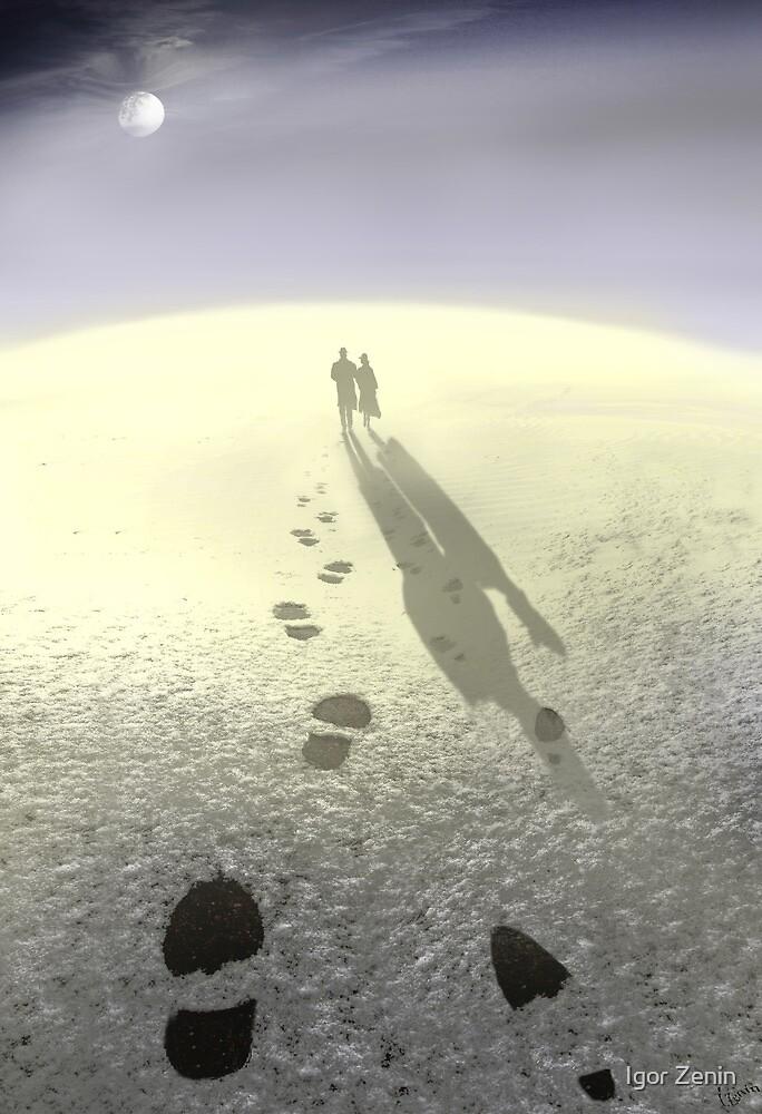Moon Walk by Igor Zenin