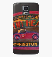 Austin Healey at Donnington Park Case/Skin for Samsung Galaxy