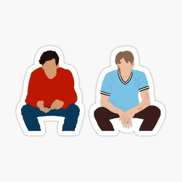 Matthias & Maxime  Sticker
