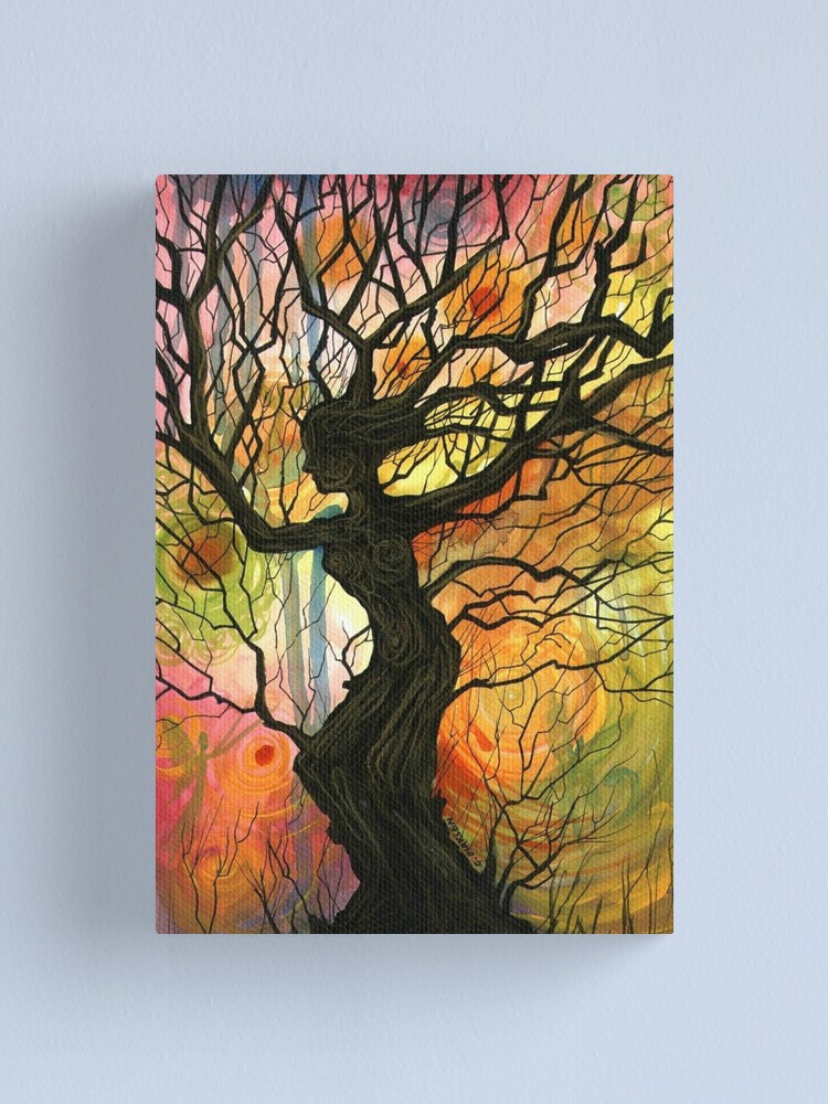 Alternate view of Tree of Life Series - 'Dusk' Canvas Print