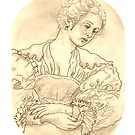 Rubens Girl by redqueenself