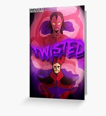 Twisted Greeting Card